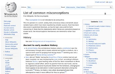 http://en.wikipedia.org/wiki/List_of_common_misconceptions#Human_body_and_health