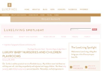 http://luxefinds.com/LuxeLiving/2012/01/25/luxury-baby-nurseries-and-children-playrooms/