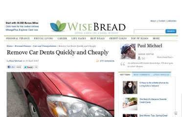 http://www.wisebread.com/remove-car-dents-quickly-and-cheaply