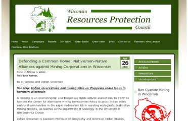 http://www.wrpc.net/articles/defending-a-common-home-nativenon-native-alliances-against-mining-corporations-in-wisconsin/
