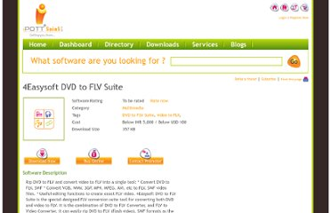 http://www.ipott.com/multimedia-software/4easysoft-dvd-to-flv-suite/5347