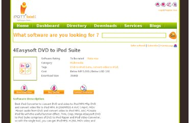 http://www.ipott.com/multimedia-software/4easysoft-dvd-to-ipod-suite/5290