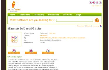 http://www.ipott.com/multimedia-software/4easysoft-dvd-to-mp3-suite/5346