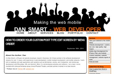 http://www.dansmart.co.uk/2011/09/how-to-order-your-custom-post-type-edit-screen-by-menu-order/