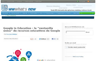 http://wwwhatsnew.com/2012/01/27/google-in-education-la-ventanilla-unica-de-recursos-educativos-de-google/
