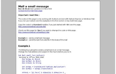 http://www.rondebruin.nl/mail/folder3/smallmessage.htm