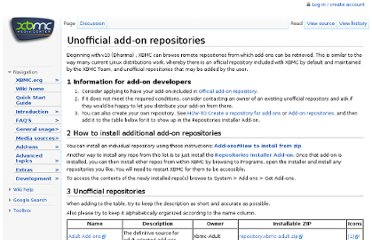 http://wiki.xbmc.org/index.php?title=Unofficial_add-on_repositories
