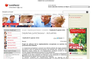 http://www.lexisnexis.fr/depeches/index2.jsp?date_new=2012-01-27&url_key=/data/26012012/26012012-162407.html&jour_jo=Vendredi#top