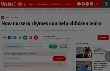 http://www.walesonline.co.uk/news/education-news/2011/10/11/how-nursery-rhymes-can-help-children-learn-91466-29571675/