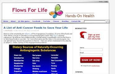 http://www.flowsforlife.com/a-list-of-anti-cancer-foods-to-save-your-life/