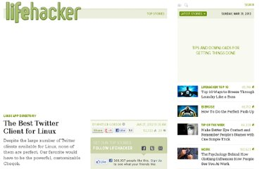 http://lifehacker.com/5879964/the-best-twitter-client-for-linux