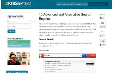 http://blog.kissmetrics.com/alternative-search-engines/