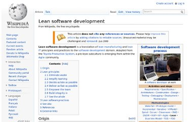 http://en.wikipedia.org/wiki/Lean_software_development#Empower_the_team