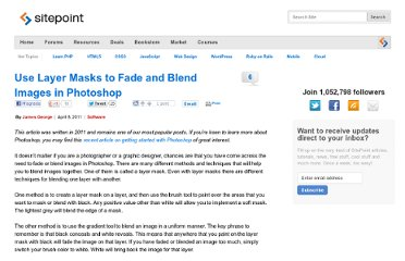 http://www.sitepoint.com/photoshop-fade-layer-mask/