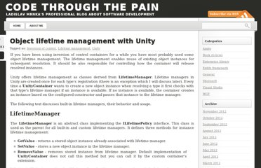 http://www.ladislavmrnka.com/2011/03/unity-build-in-lifetime-managers/