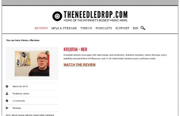 http://theneedledrop.com/category/review/