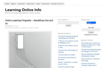 http://learningonlineinfo.org/online-learning-programs-benefiting-one-and-all/