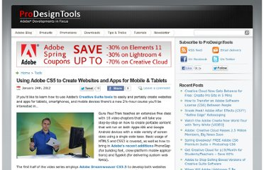http://prodesigntools.com/adobe-cs5-for-creating-websites-apps-mobile-tablets.html