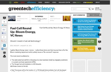 http://www.greentechmedia.com/articles/read/Fuel-Cell-Round-Up-Bloom-Energy-VC-News/