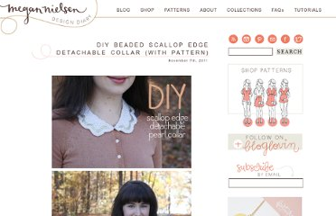 http://blog.megannielsen.com/2011/11/diy-beaded-scallop-edge-detachable-collar-with-pattern/