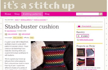 http://itsastitchup.co.uk/knitting-patterns/stash-buster-cushion/