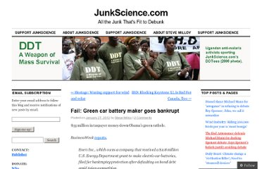 http://junkscience.com/2012/01/27/fail-green-car-battery-maker-goes-bankrupt/