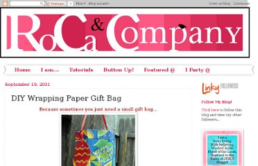 http://rocaandcompany.blogspot.com/2011/09/diy-wrapping-paper-gift-bag.html