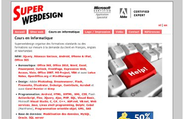 http://www.superwebdesign.be/fr/cours/informatique.htm