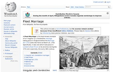 http://en.wikipedia.org/wiki/Fleet_Marriage