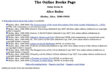 http://onlinebooks.library.upenn.edu/webbin/book/lookupname?key=Bailey%2C%20Alice%2C%201880-1949