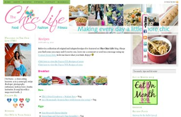 http://thechiclife.com/recipes