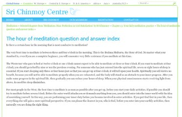 http://www.srichinmoycentre.org/meditation/the_hour_of_meditation/the_hour_of_meditation_q_a_index/q_a__is_there_a_certain_hour_in_the_morning_that_is_most_cond
