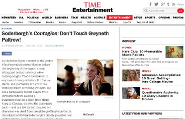 http://entertainment.time.com/2011/09/04/soderberghs-contagion-dont-touch-gwyneth-paltrow/
