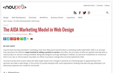 http://www.noupe.com/design/the-aida-marketing-model-in-web-design.html
