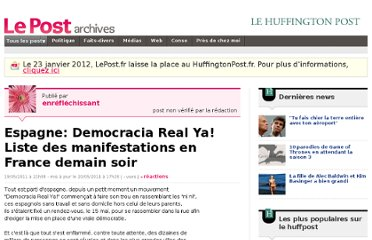 http://archives-lepost.huffingtonpost.fr/article/2011/05/19/2500407_espagne-democracia-real-ya-liste-des-manifestations-en-france-demain-soir.html