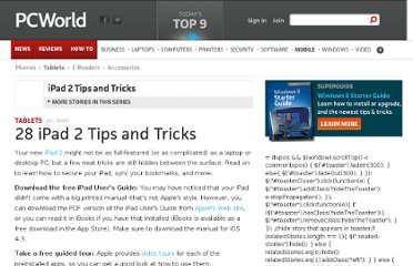 http://www.pcworld.com/article/222186/28_ipad_2_tips_and_tricks.html