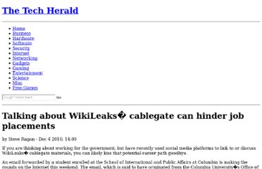 http://www.thetechherald.com/articles/Talking-about-WikiLeaks-cablegate-can-hinder-job-placements/12117/
