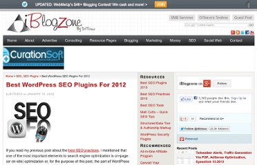 http://www.iblogzone.com/2012/01/the-best-wordpress-seo-plugins-for-2012-part-1-html.html