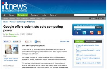 http://www.itnews.com.au/News/254040,google-offers-scientists-epic-computing-power.aspx
