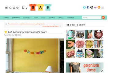 http://www.made-by-rae.com/2010/10/felt-letters-for-clementines-room/