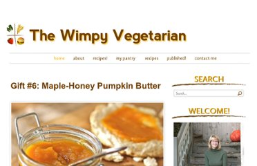 http://thewimpyvegetarian.com/2011/12/gift-6-maple-honey-pumpkin-butter/