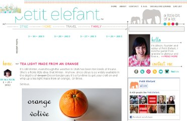 http://petitelefant.com/tea-light-made-from-an-orange/