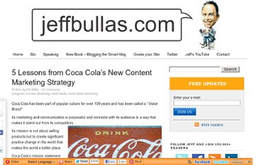 http://www.jeffbullas.com/2012/01/30/5-lessons-from-coca-colas-new-content-marketing-strategy/