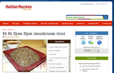 http://haitian-recipes.com/recipes/108_di-ri-djon-djon-mushroom-rice.html