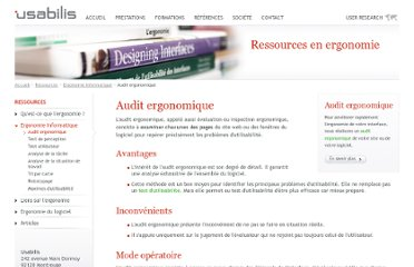 http://www.usabilis.com/methode/audit-ergonomique.htm