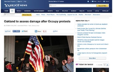 http://news.yahoo.com/oakland-assess-damage-occupy-protests-172156955.html