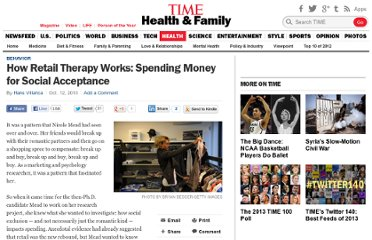 http://healthland.time.com/2010/10/12/how-retail-therapy-works-spending-money-for-social-acceptance/