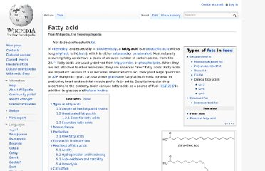 http://en.wikipedia.org/wiki/Fatty_acid