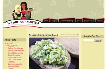 http://www.wearenotmartha.com/2012/01/avocado-spinach-egg-salad/
