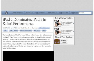 http://appadvice.com/appnn/2011/03/ipad-2-dominates-ipad-1-safari-performance